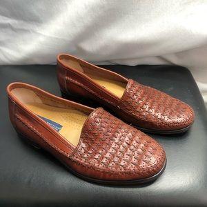 Giorgio Brutini Le Glove brown leather Loafers 6.5